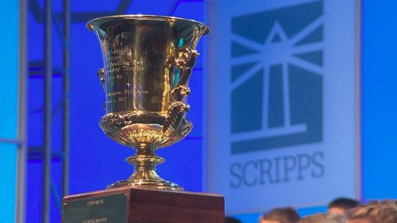The Scripps National Spelling Bee is underway.