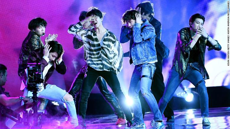 K-pop group BTS scores worldwide success