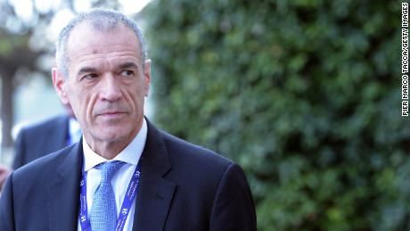 Former International Monetary Fund officials Carlo Cottarelli is Mattarella's next choice to form a government.