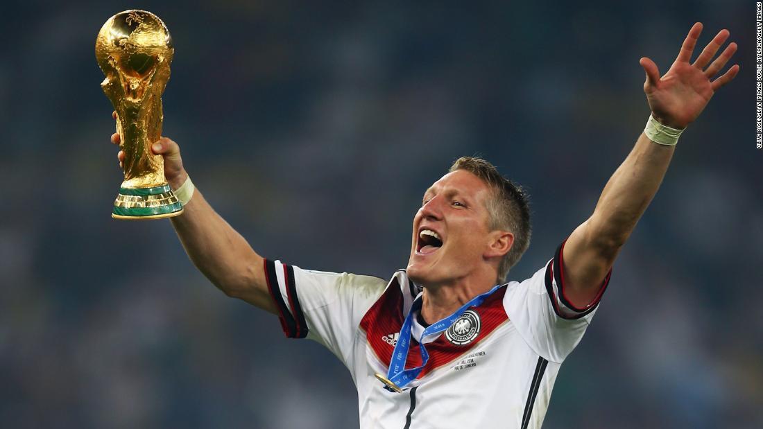 f8cae7398 Germany  Former captains Schweinsteiger and Matthaus reveal their World Cup  secrets - CNN