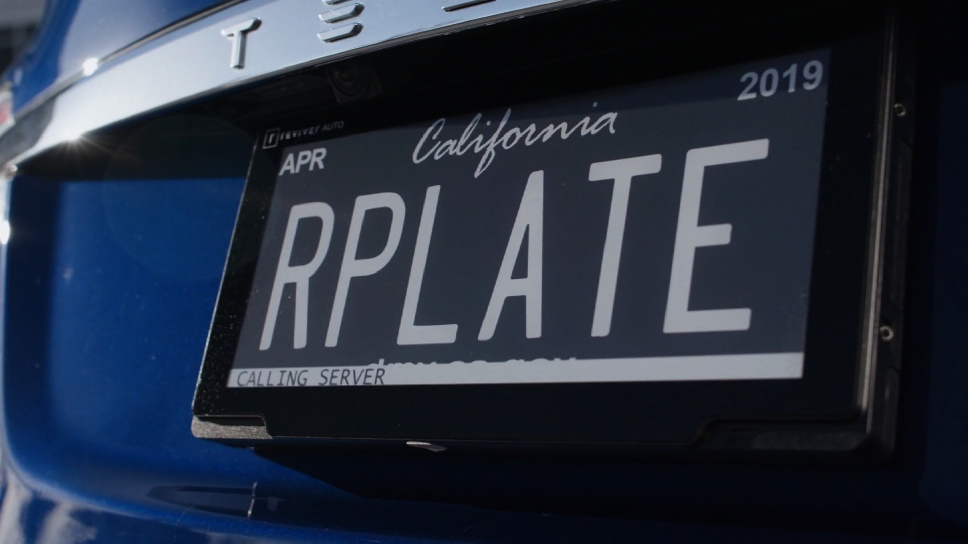 California tests pricey digital license plates