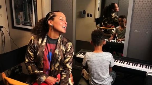 "title: Alicia Keys on Instagram: ""Best duet everrrrr !!!!! Love this boy!! He's so excited about music  My bestie!! ❤️❤️A🌈A🌈🌈 A🌈🌈🎶 A🌈🌈🎶🎼 A🌈🌈🎶🎼🎶 A🌈🌈🎶🎼🎶🎹 A🌈🌈🎶🎼🎶🎹🎤"" duration: 00:00:00 site: Instagram author: null published: Wed Dec 31 1969 19:00:00 GMT-0500 (Eastern Standard Time) intervention: no description: null"