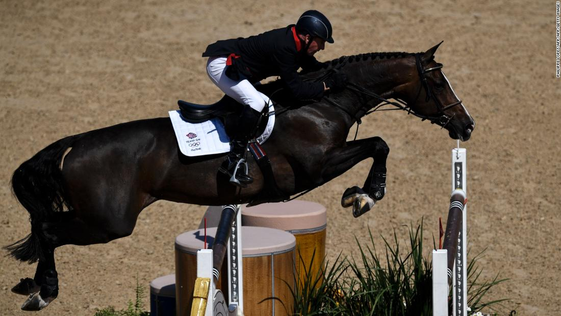 John Whitaker has been winning international showjumping medals since 1980. Now aged 62, he shows no signs of slowing down.