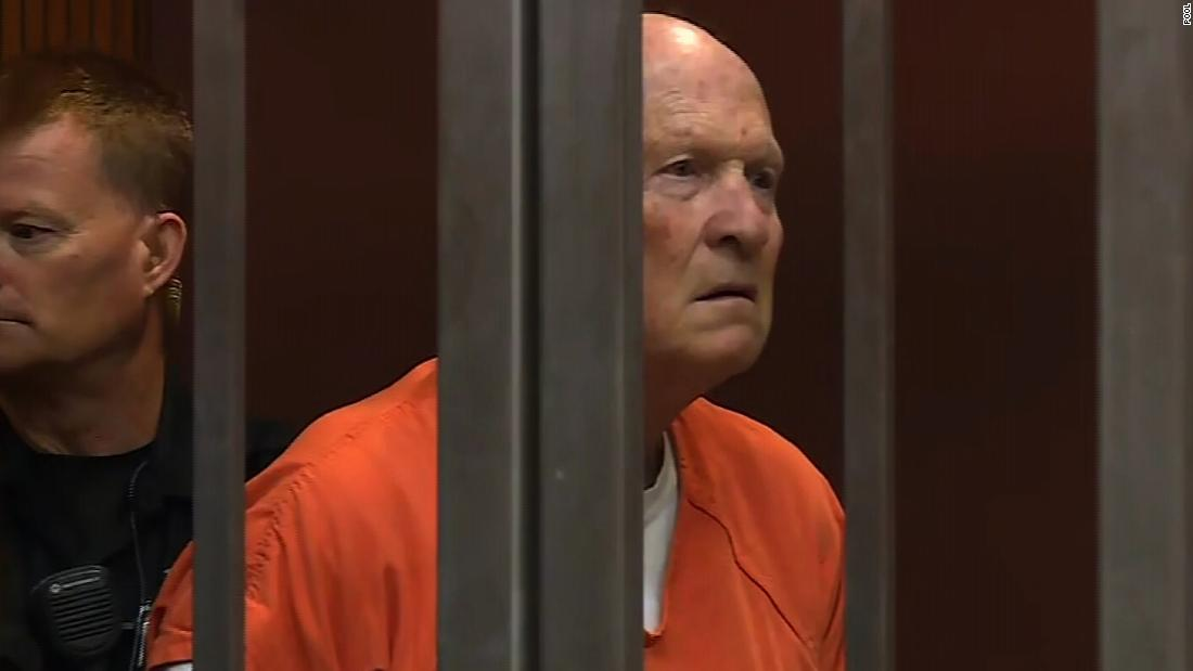 Hearing details ghastly crimes of Golden State Killer as he pleads guilty to killings
