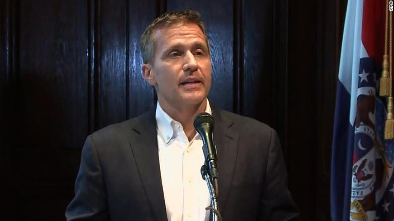 Missouri governor resigns amid scandals