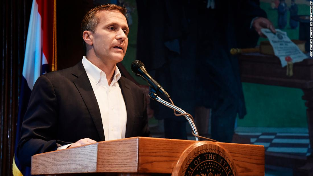 Felony charge dropped against Eric Greitens - CNNPolitics