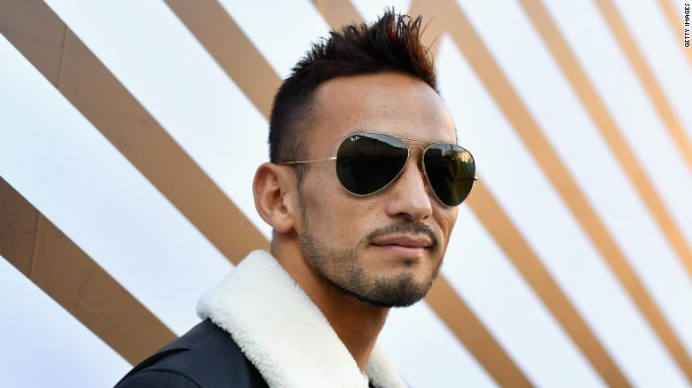 PARIS, FRANCE - OCTOBER 05:  Hidetoshi Nakata attends the Louis Vuitton show as part of the Paris Fashion Week Womenswear Spring/Summer 2017  on October 5, 2016 in Paris, France.  (Photo by Pascal Le Segretain/Getty Images)