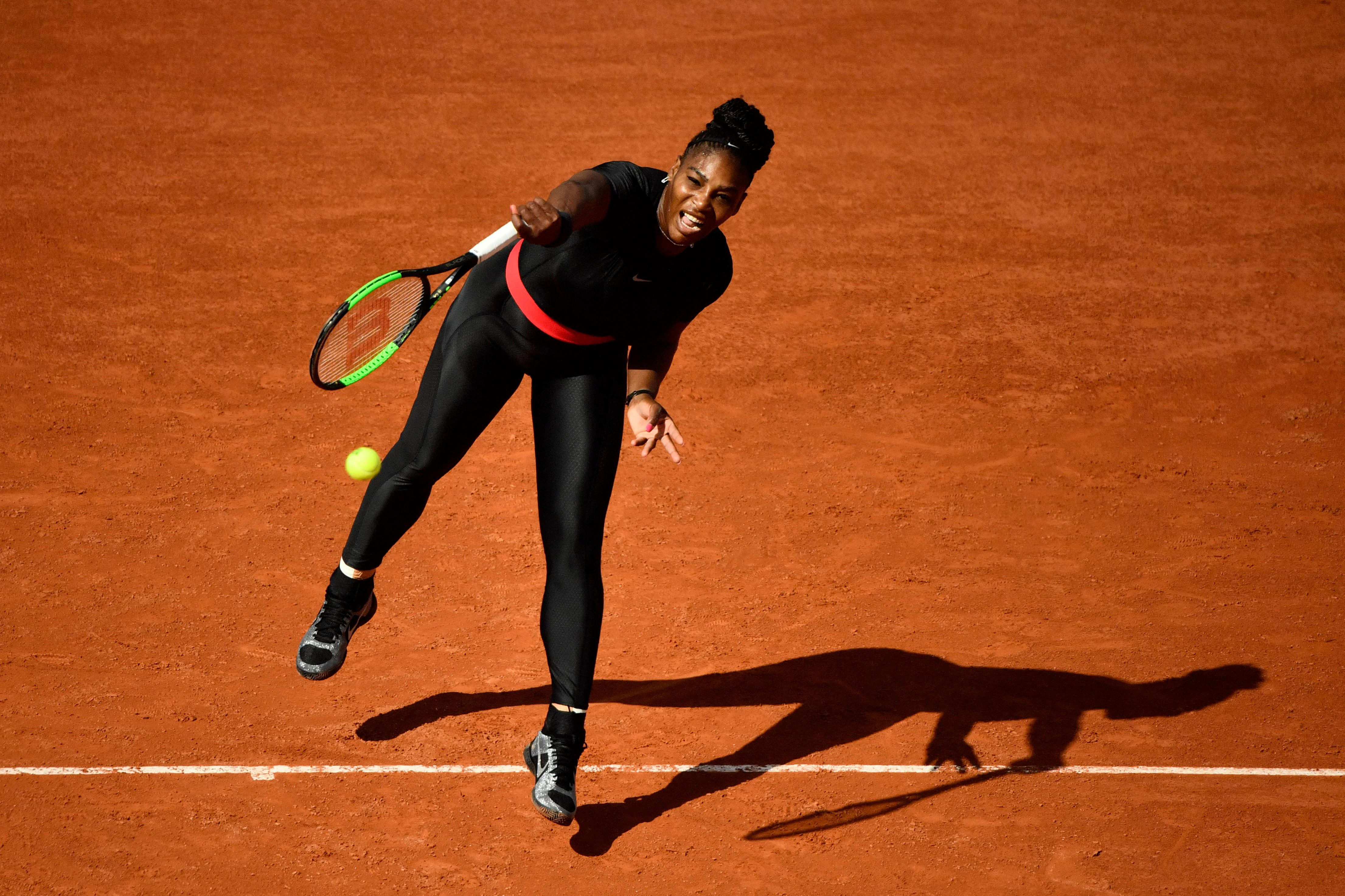 Image result for Serena Williams responds after her 'catsuit' is banned by French Open
