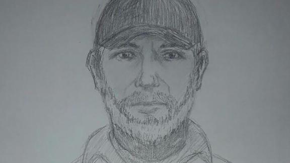 Ukrainian officials released a sketch of the suspected killer.
