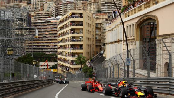 Ricciardo nursed his ailing Red Bull to a remarkable victory on the streets of Monte Carlo and with it made up for his 2016 heartbreak on the same circuit.
