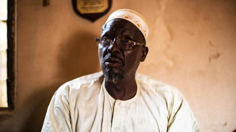 Bala Mohammed, a Nigeria soldier who recounted his experiences fighting against Biafra for the Nigerian army.