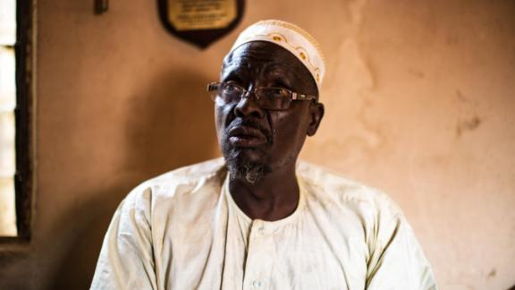 Bala Mohammed, a former soldier who fought against Biafra for the Nigerian army.  Photo by Chika Oduah.