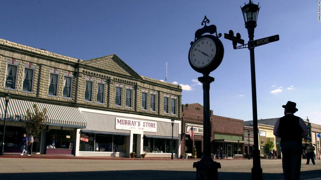 This tiny town is the site of Disney's 'lost' park