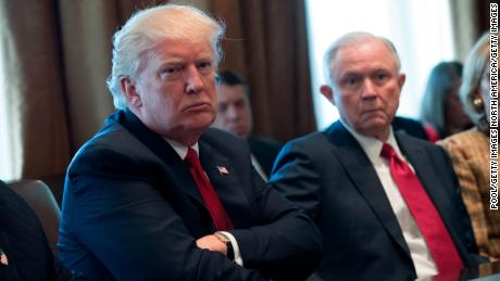 Trump says Jeff Sessions 'never took control of the Justice Department'