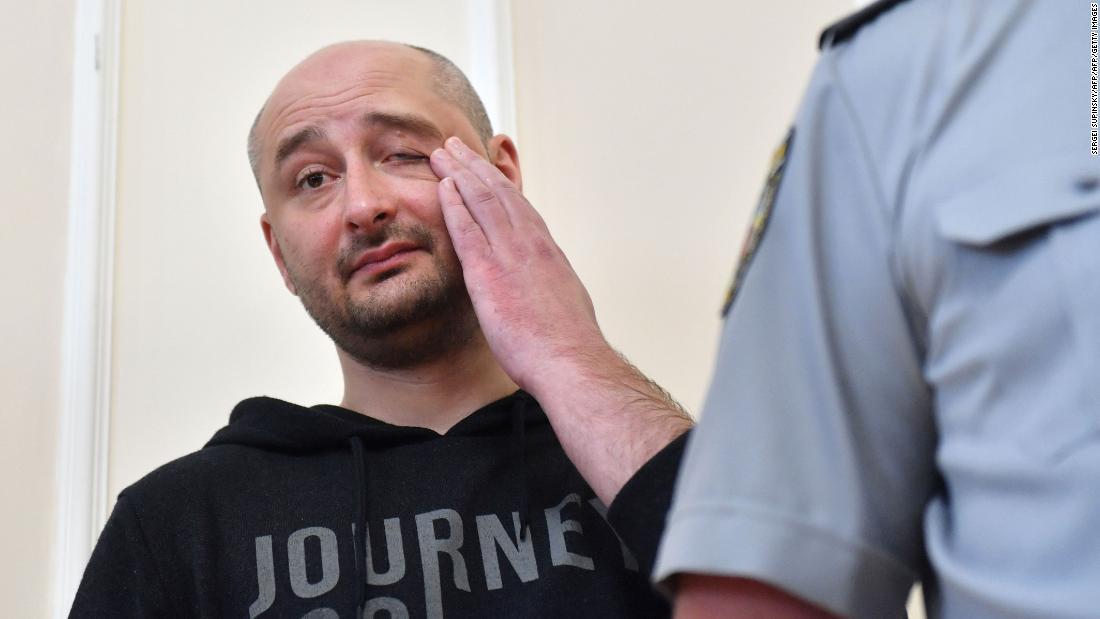 'Murdered' Russian journalist Arkady Babchenko turns up alive