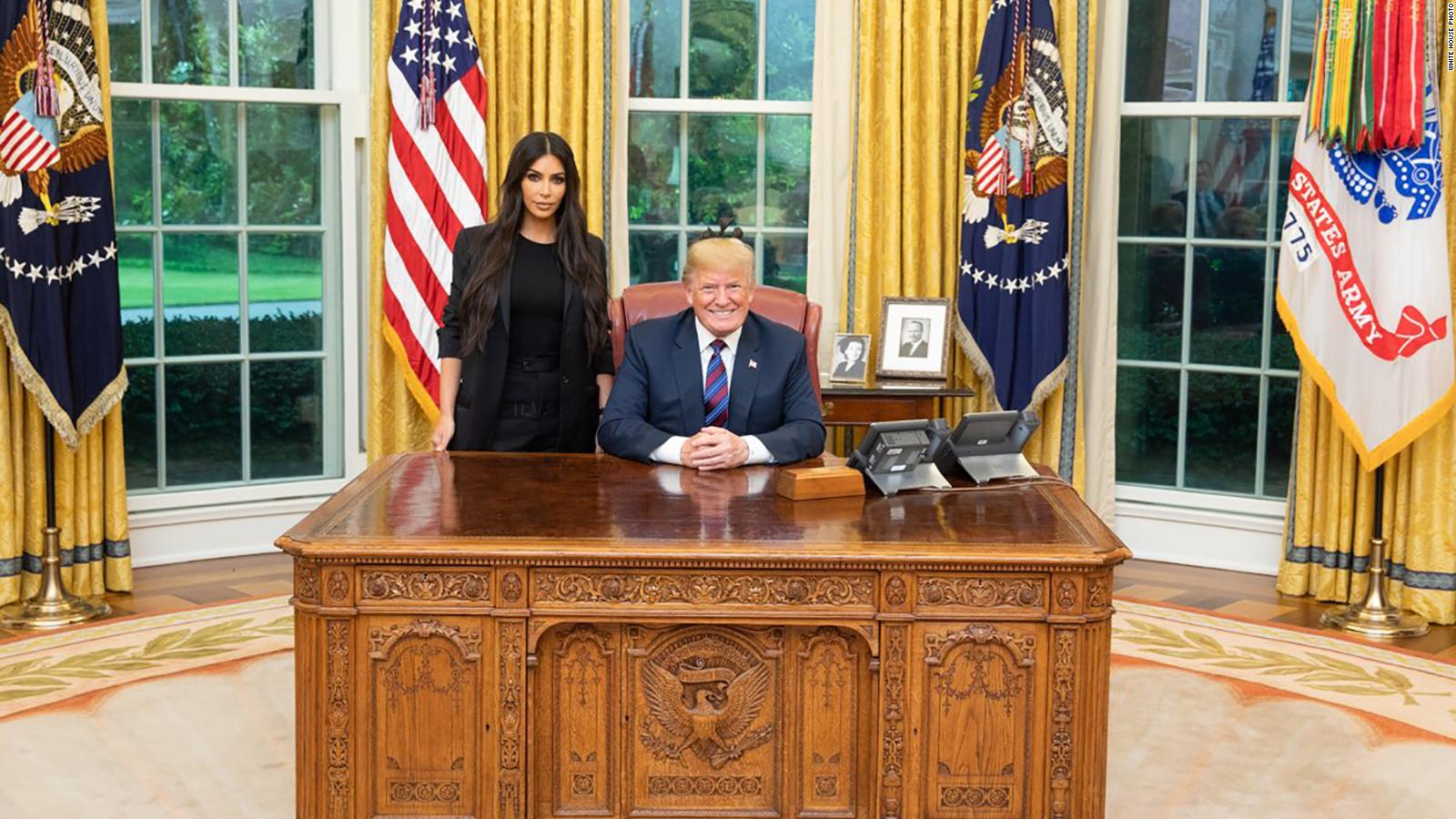 Its Official, Kim Kardashian Just Met With President Trump
