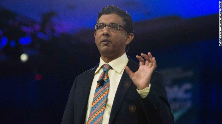 Dinesh D'souza speaks at CPAC 2016 conference, March 5, 2016 in National Harbor, Maryland to promote his new film called The Secret History Of The Democratic Party (Photo by Zach D Roberts/NurPhoto) (Photo by NurPhoto/NurPhoto via Getty Images)