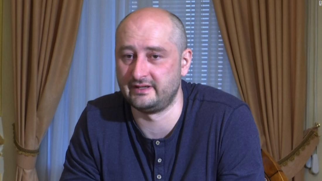 Russian journalist Arkady Babchenko defends staged death