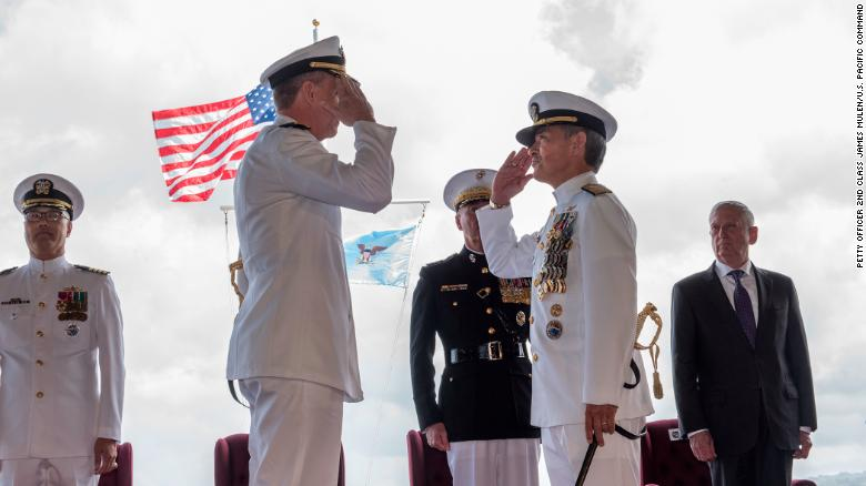 US admiral says China is Asia's biggest long-term threat