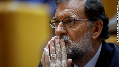 Spanish Prime Minister Mariano Rajoy's Popular Party has been hit with corruption allegations.