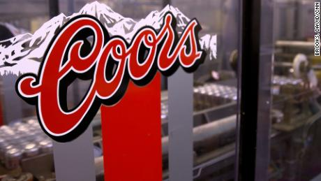 The Lead sig in/out - PKG - Tour of Coors brewery in Golden, CO - how POTUS Trump's tariffs on aluminium may affect the price of beer in the USA.
