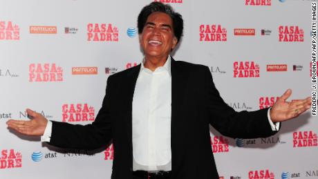 "Jose Luis ""El Puma"" Rodriguez poses on arrival for the Los Angeles Premiere of the film ""Casa de mi Padre"" at Grauman's Chinese Theater in Hollywood on March 14, 2012 in California. The US release via Pantelion Films opens March 16. AFP PHOTO/Frederic J. BROWN (Photo credit should read FREDERIC J. BROWN/AFP/Getty Images)"