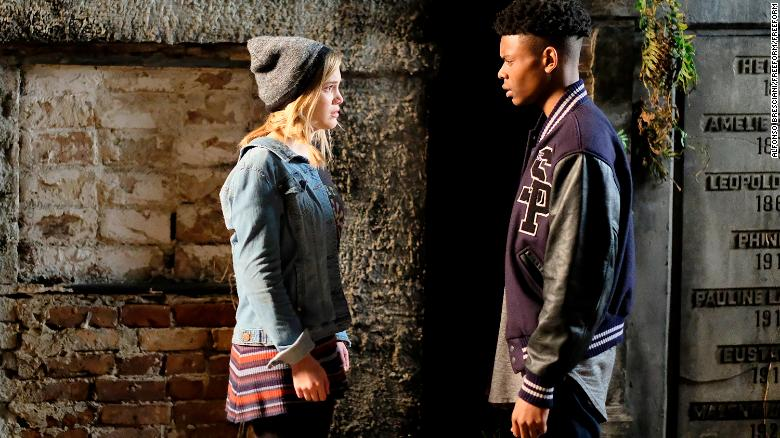 "MARVEL'S CLOAK & DAGGER - ""First Light"" - ÒMarvelÕs Cloak & DaggerÓ is the story of Tandy Bowen and Tyrone JohnsonÐ two teenagers from very different backgrounds, who find themselves burdened and awakened to newly acquired superpowers which are mysteriously linked to one another.  The only constant in their lives is danger and each other. Tandy can emit light daggers and Tyrone has the ability to control the power of darkness. They quickly learn they are better together than apart. The series premieres on Thursday, June 7th with a two-hour premiere starting at 8 PM ET/PT. (Freeform/Alfonso Bresciani)