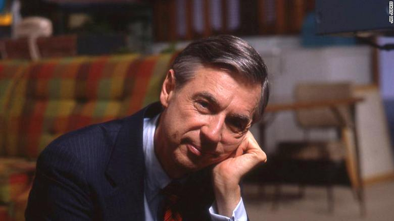 5030.03_cropped_upRes Fred Rogers on the set of his show Mr. Rogers Neighborhood from the film, WON'T YOU BE MY NEIGHBOR, a Focus Features release. Credit: Jim Judkis / Focus Features