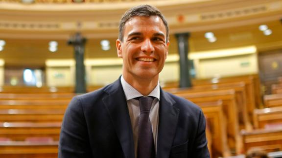 Incoming Spanish Prime Minister Pedro Sánchez's Socialist party has only 84 seats in the country's 350-seat Parliament.
