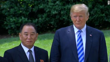 N. Korean official departs WH after meeting