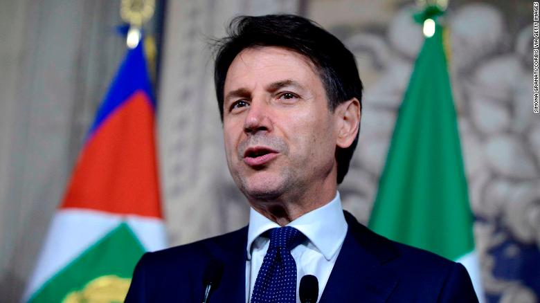 Newly minted Italian Prime Minister Giuseppe Conte leads a government of two parties that have no patience with the establishment and could lock horns with Brussels.
