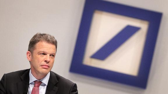 Christian Sewing, new CEO of Germany's largest lender Deutsche Bank.