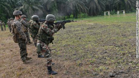 US reduce the number of troops in Africa