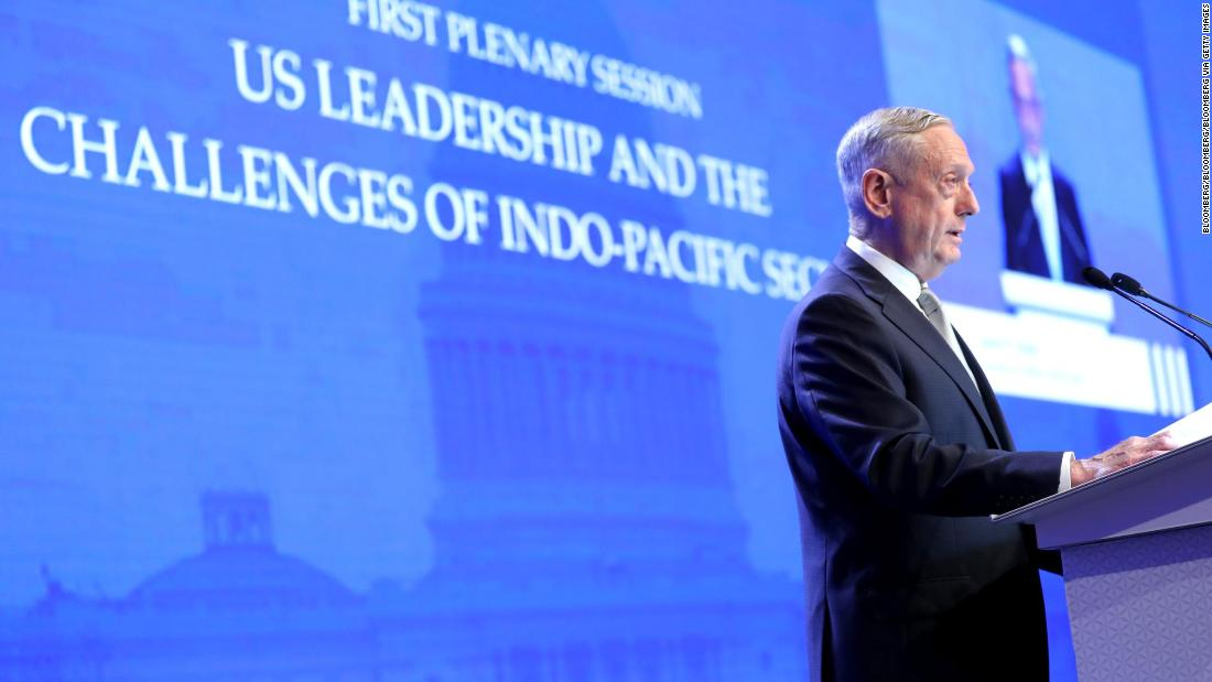 Image result for news for mattis in singapore, photos