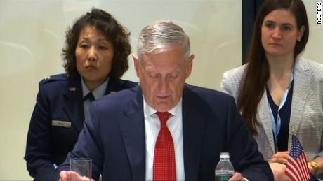 north korea summit mattis sanctions denuclearization sot nr_00001601