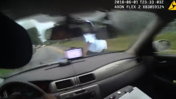 Video shows police hit suspect with cruiser