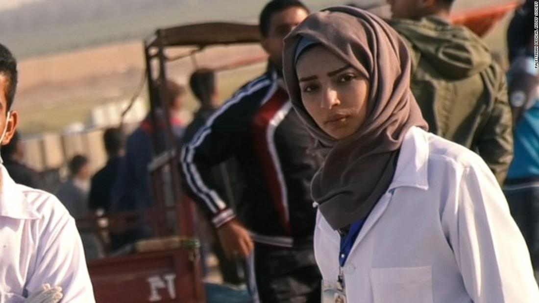 Palestinians mourn death of nurse killed by Israeli forces ...