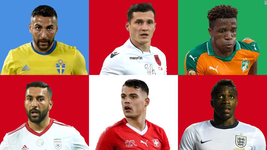 a121287d2 World Cup 2018  What nationality means to today s footballer - CNN