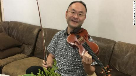 Ken Sasaki -- and his violin -- is available to rent for about $9.