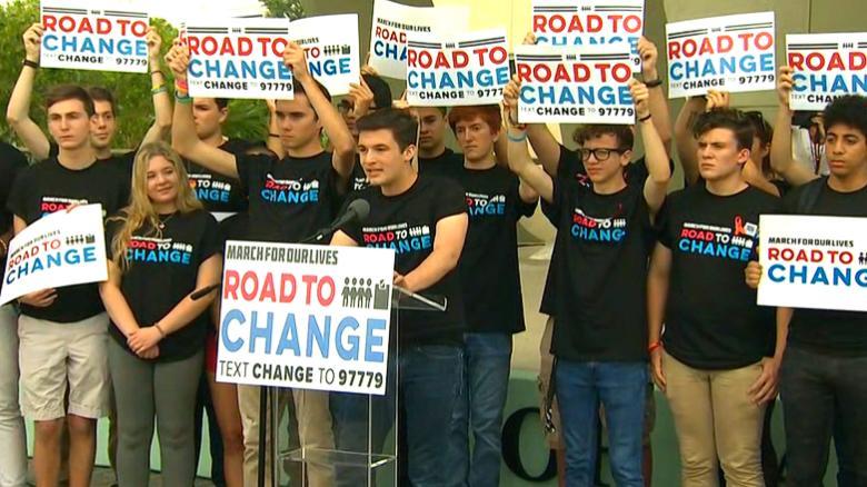 Parkland Graduation 2020.Parkland Students Announce Road To Change