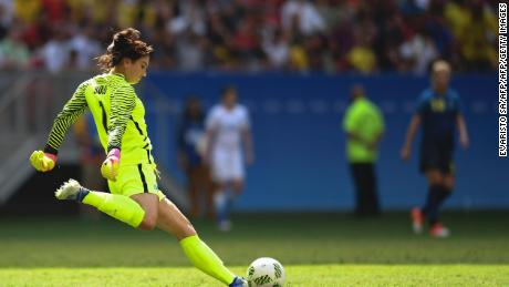 Hope Solo: Fighting for equality 'in a lonely world' - CNN