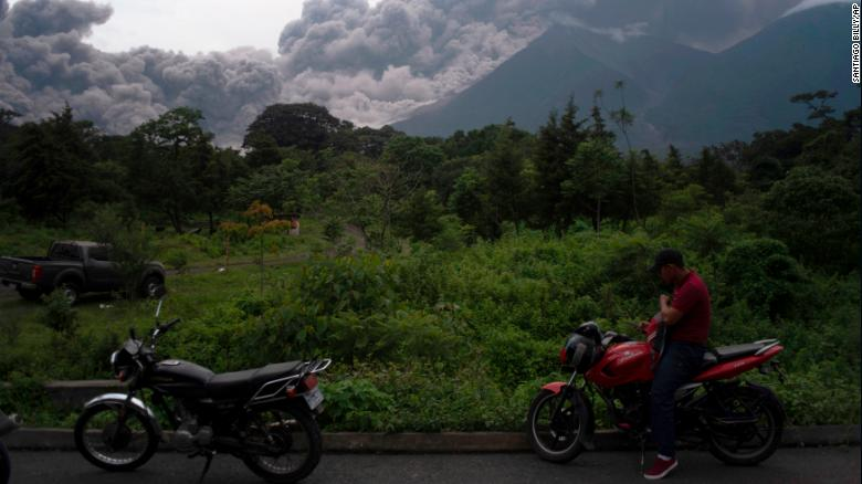 Image result for Guatemala's Fuego volcano erupts, killing at least 25