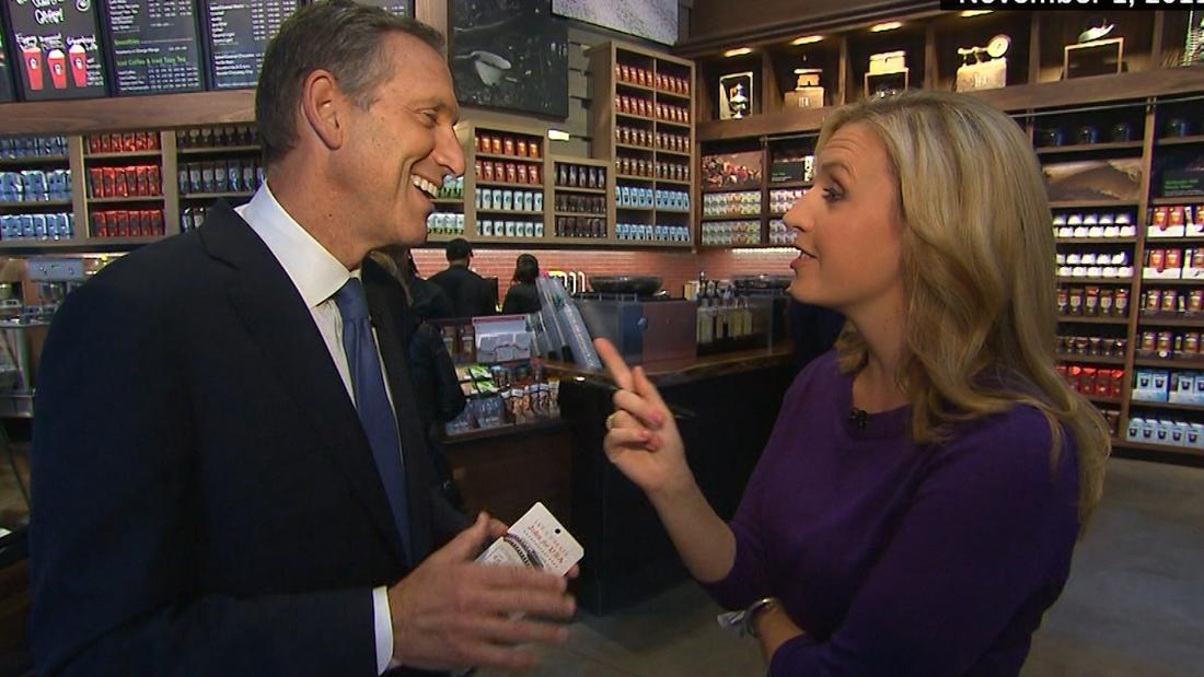 Former Starbucks chief exploring independent 2020 bid