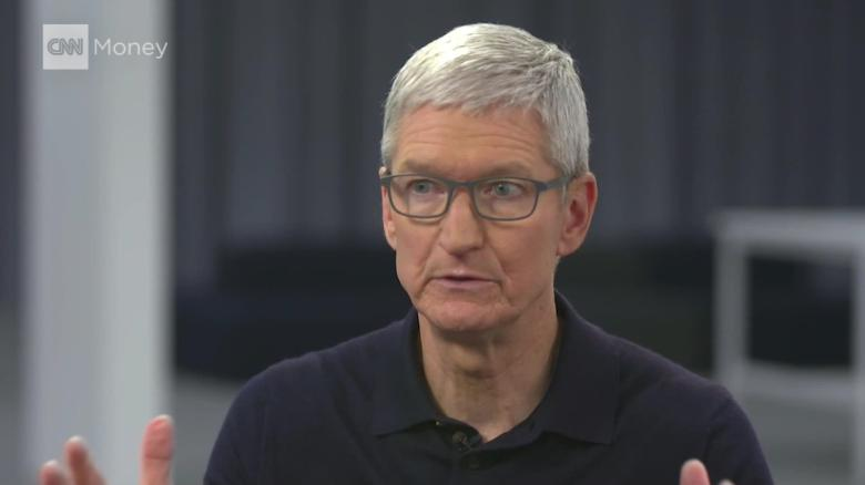 Tim Cook apple ceo privacy human right intv segall_00004919