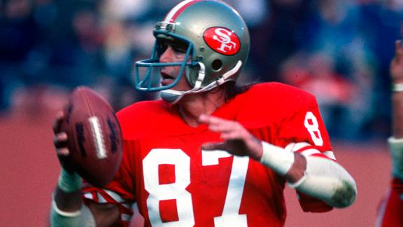 "Former San Francisco 49er Dwight Clark died June 4 after a battle with amyotrophic lateral sclerosis, or ALS. He was 61. Clark was on the receiving end of one of the greatest plays in NFL history, forever known as ""The Catch."""