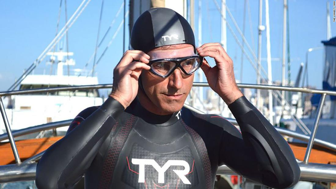 French swimmer reaches Hawaii -- 6 months after entering ocean in Japan