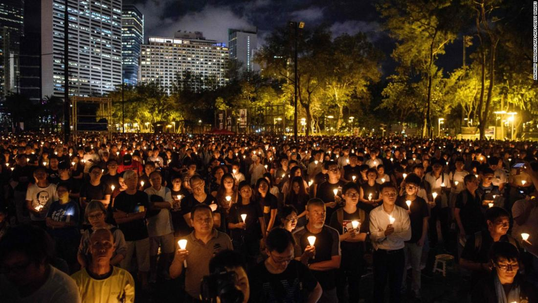 Hong Kong's Tiananmen vigil always set the city apart from China. Those days may now be over