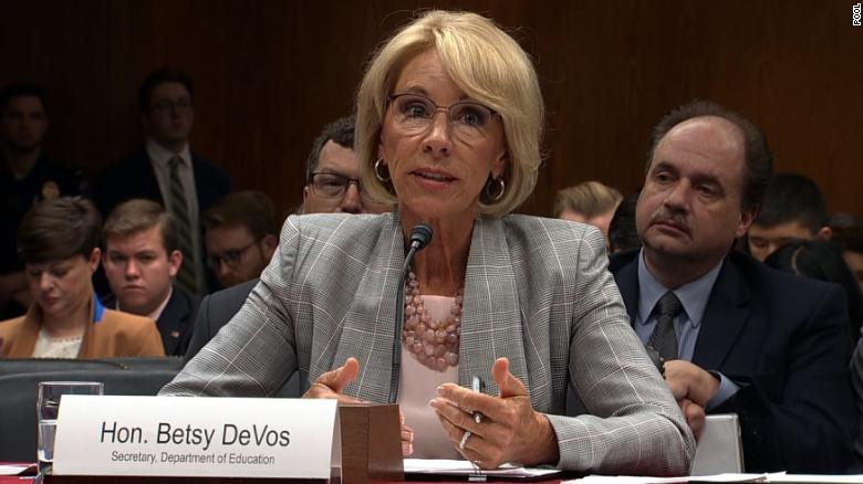 Trump Admin Disputes Nyt Report On Education Department Plan To Arm