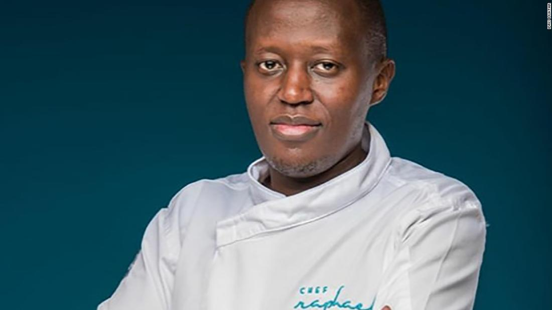 Kenya's Chef Raphael: 'I want to be the African Jamie Oliver'