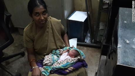 A female officer named Archana breast-fed the boy once.